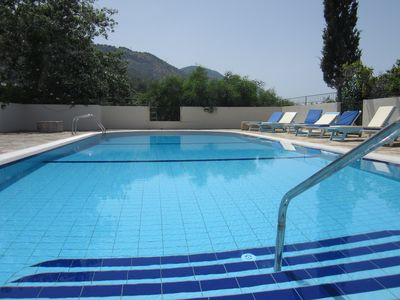 Photo for New! Vineyard Villa, Ilgaz. Huge pool, great views of sea, mountains & vineyard.