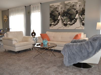 Photo for Wow!  Modern, Comfy HomeAway From Home