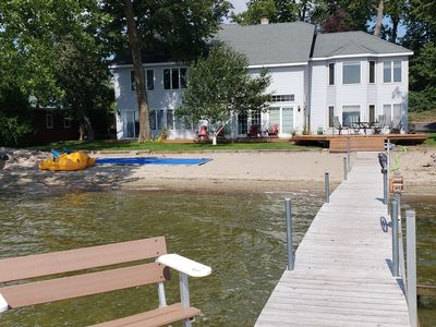 Photo for Blue Heron: Beautiful Large Otter Tail Lake Home with level lot and sandy beach