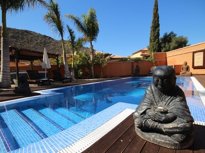 Photo for Villa Buda, relaxing atmosphere, private pool, garden, jacuzzi, BBQ area