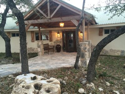 Photo for Recently remodeled 4 bedroom home, incredible views, open air hot tub and creek!