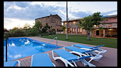 Photo for 7 bedroom Villa, sleeps 18 in Gualter with Pool and WiFi