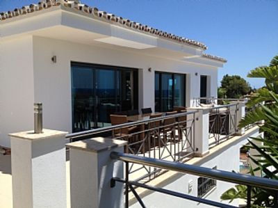 Photo for Modern Villa With Private Pool And Magnificent Sea And Mountain Views