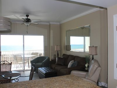 Photo for Direct Gulf Front! Great views of the beach! Perfect Reviews!! Tidewater 207