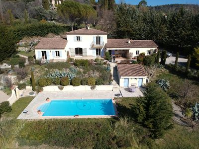 Photo for Villa with superb views of the hills and valley Fayence