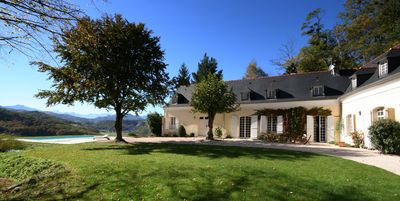 Photo for Elegant 17 Century House With Superb Mountain Views & solar heated Swimming Pool