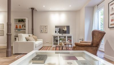 Photo for Homes In Blue - Apartment with 3 bedrooms and 2 bathrooms with capacity for 4 people located in the Salamanca district of Madrid.