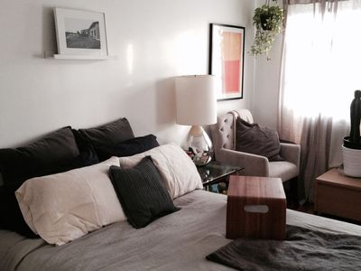 Photo for Big Sunny 1 Bedroom in South Park Slope
