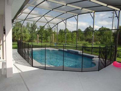 Photo for Beautiful large 5 bedroom pool home with games room
