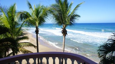 Photo for Whale Watcher Apartment at Pools Beach Rincon Beachfront with Amazing Views