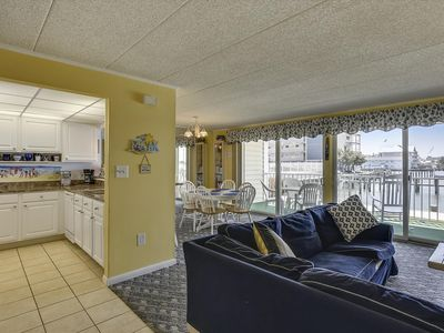 Photo for Updated Bayfront w/ Wi-Fi, Pool & Beautiful Views - Next to Convention Ctr!