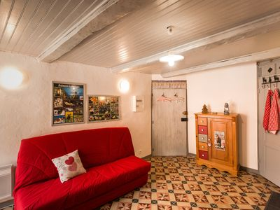 Photo for Studio new 18 M ² in small home of village, Calm, seen Mountain