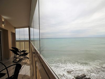 Photo for Apartment in front of the sea, 1st line