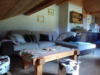 Photo for Warm and comfortable apartment in individual chalet