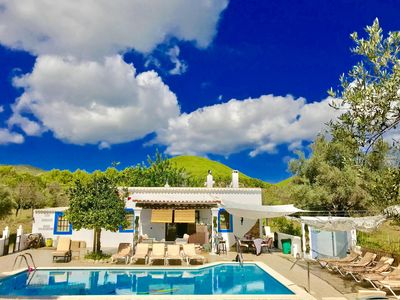 Photo for mikeluxvilla CHEERFUL Beautiful country house villa in Ibiza 5 double bedrooms