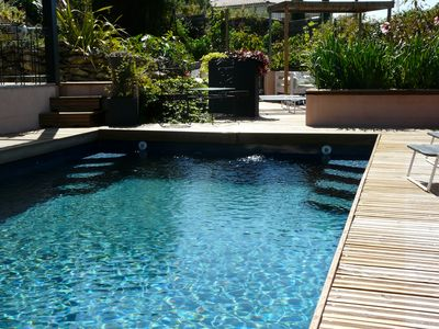 Photo for Furnished classified 4 stars 4 persons natural swimming pool