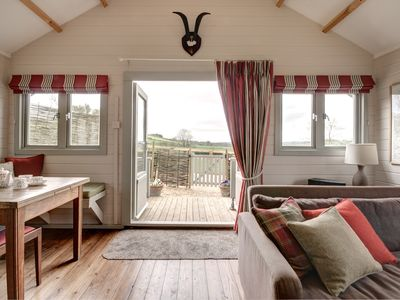 Photo for Cotswold Chalet with stunning views