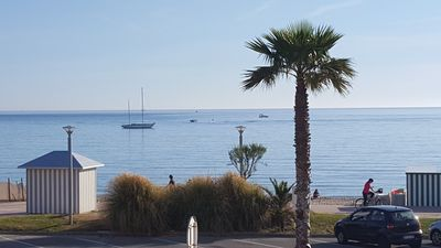 Photo for Beautiful T3 facing the beach of Saint Cyr sur Mer