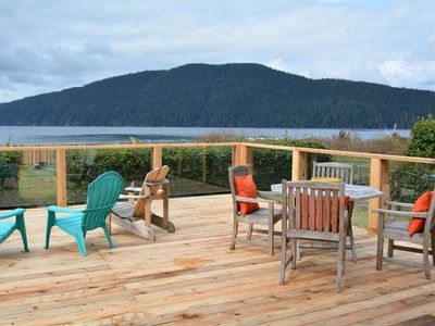 Photo for Ocean Front Family-Friendly Retreat- 4 bedrooms. Driftwood Cottage