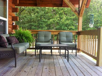 Front covered porch