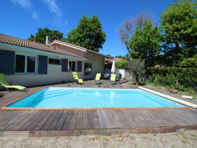 Photo for New for April 2019: pleasant 4 bedroom house with heated pool
