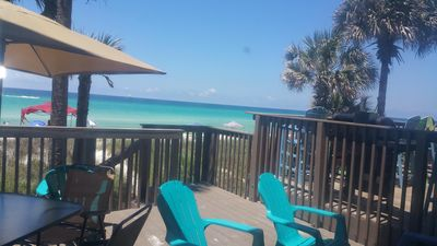 Photo for Location Location Location!! On the Beach!! - Pets Allowed & Free Wifi,Parking