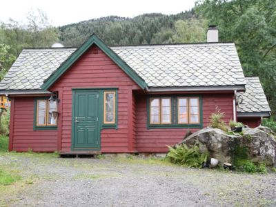 Photo for Cozy cottage for 4 people at Rosendahl on the Hardangerfjord