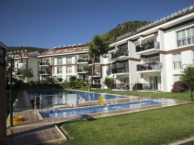 Photo for Luxe 1+1 Apart with Shared Large swimming Pool in Fethiye