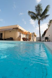Photo for Private pool. Wlan, SAT TV, centrally located in quiet residential area