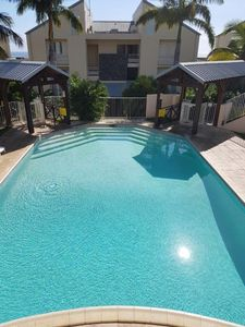 Photo for Beautiful T2 with sea view, pool and garden from 42 € per day!