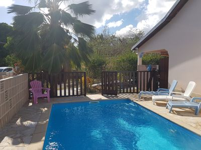 Photo for House with pool, quiet and 800 meters from the beach. PMR access
