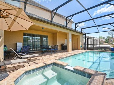 Photo for Windsor at Westside 8 Bedroom, Game Room, Spa, Free Wifi, BBQ Grill, Gated Resort Community!