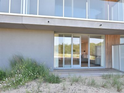 Photo for Luxury, seaside holiday apartment set in the dunes