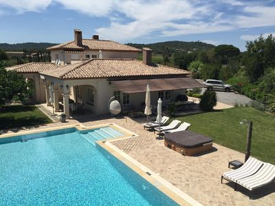 Photo for Villa Bonheur Ramatuelle, 6 ch pool and jacuzzi on the route des Plages