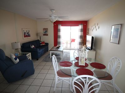Photo for WESTWIND CONDO ON BEACH, DIRECT VIEW OF THE GULF, Sleeps 6.