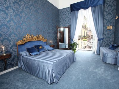 Photo for The House on the Nile - Charming Apartment in the heart of Naples Historical Center