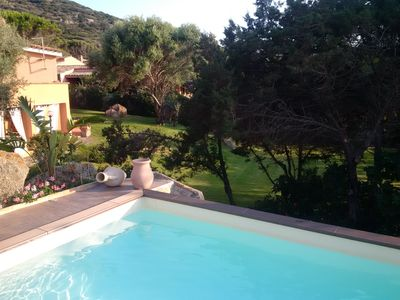 Photo for Big Villa, heated pool and huge garden - 100mt by the sea
