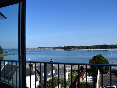 Photo for Apartment entirely renovated with SUPERB VIEW on Baie Sainte-Anne in TREGASTEL