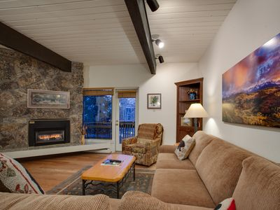 Photo for Inviting 2BDRM at Resort's Base-Great Living Area-Close to all Summer Activities
