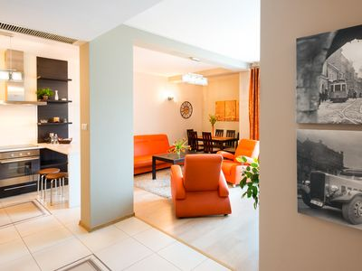 Photo for Luxury 2 BR, 2BA in Krakow Old Town, Wifi, Underground Parking, Air Conditioning