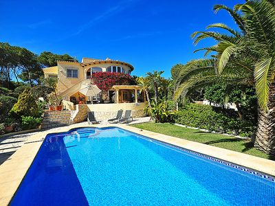 Photo for Vacation home Flamenc in Jávea/Xàbia - 9 persons, 4 bedrooms