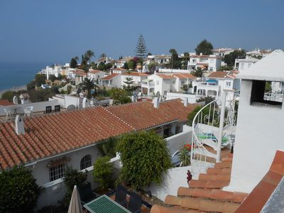 Photo for Wonderful Two-Bed, Open Plan, Semi-Detatched Villa With Stunning Sea Views