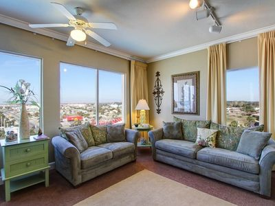 Photo for Tidewater Resort - Beautifully Decorated and Coastal Chic End Unit+Pool & Views!