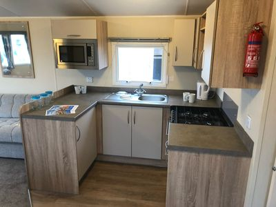 Photo for Brand new 37ft x 12ft Willerby Rio Gold deluxe Newer Model Caravan 8 Berth