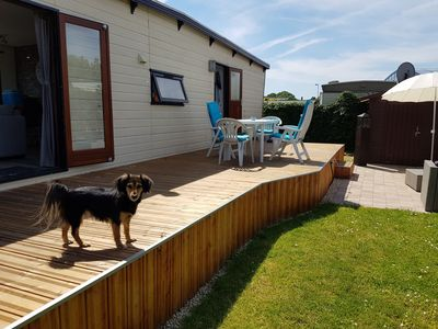 Photo for Chalet on the campsite Ijsselstrand Doesburg