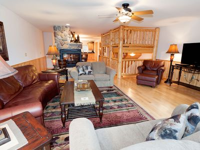 Photo for Cozy, waterfront townhome w/ a fireplace, private patio, & shared boat docks