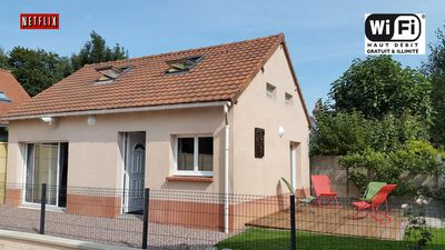 Photo for Cottage near Fécamp Etretat Yport. Beds made 4 pers + 2 babies Wifi + Netflix HD