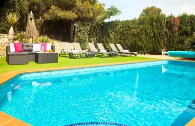 Photo for Luxury villa with sea views for 8 people close to Moraira and El Portet