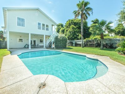Photo for 4BR w/PRIVATE Pool! Walk 2 Beach☀2 Step Sanitizing Process☀ The Alexander