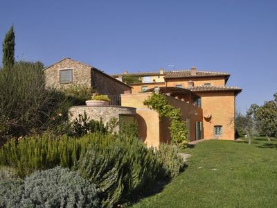 Photo for 9 bedroom Villa, sleeps 18 in Senecchiolo with Pool, Air Con and WiFi